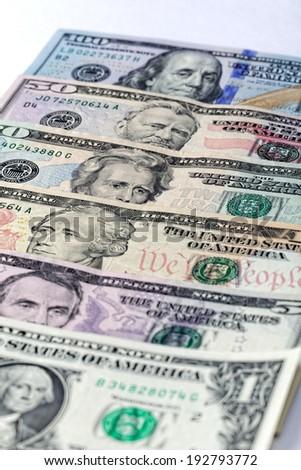 US $ Dollar Money - stock photo