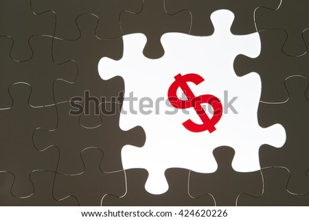 US dollar symbol - stock photo