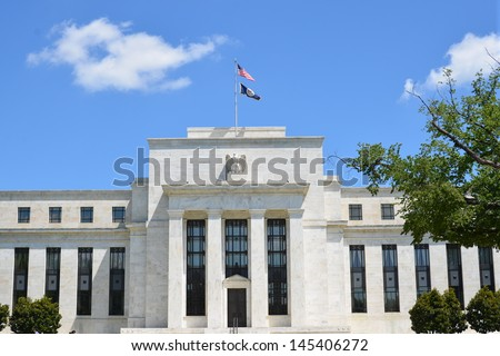 US Federal Reserve - stock photo