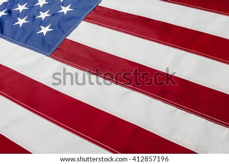 US Flag background  - stock photo