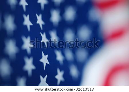 USA American Flag - stock photo