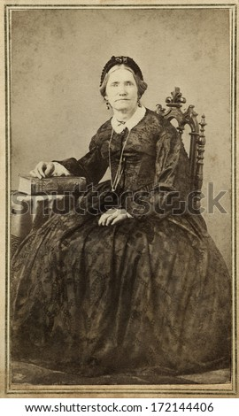 Usa new york circa 1860 vintage stock photo 168286199 for Pioneer woman magazine second issue