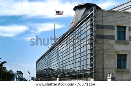 USA Embassy - stock photo