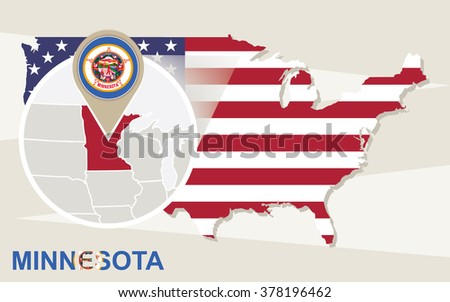 Minnesota Map Stock Images RoyaltyFree Images Vectors - Minnesota usa map