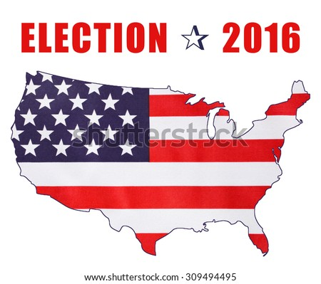 Usa Presidential Election Image Stars Stock Photo - 2016 presidential election us map