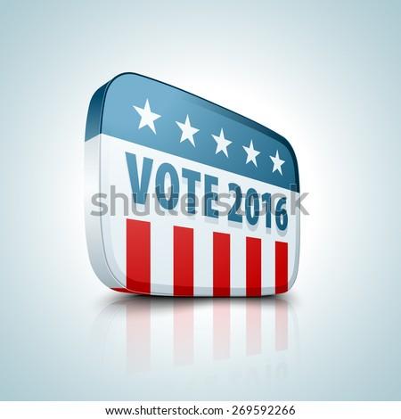 USA Vote 2016 - stock photo