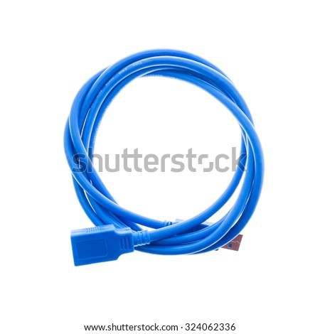 USB Cable - stock photo