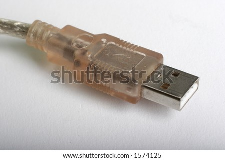 usb cable upclose