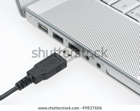 USB Device - stock photo
