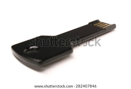 USB Key - stock photo