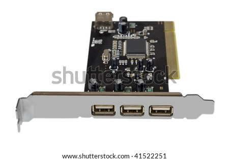 usb pci adapter card