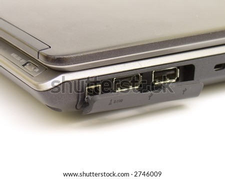 USB Ports on a Notebook