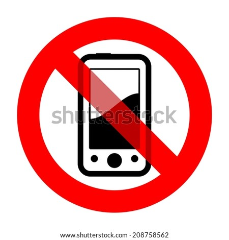 use of mobile phones is not permitted