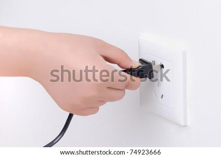 Use socket - stock photo