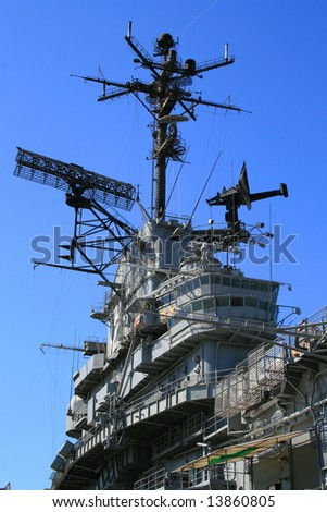 USS Hornet - stock photo