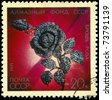"USSR - CIRCA 1971: A Stamp printed in USSR shows the Diamond Rose made for centenary of Lenin?s birth from the series ""Precious Jewelry"", circa 1971 - stock photo"
