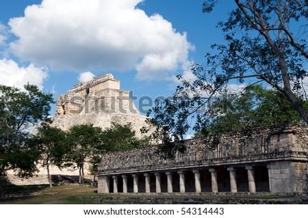 Uxmal, Yucatan, Mexico - stock photo