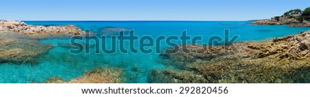 vacation time in Caribbean paradise - stock photo