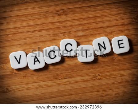 Vaccine concept - stock photo