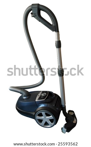 Vacuum Cleaner Isolated on white with clipping mask
