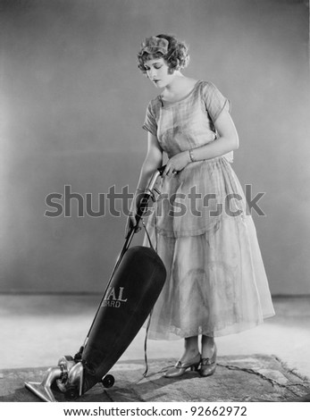 VACUUM MAVEN - stock photo