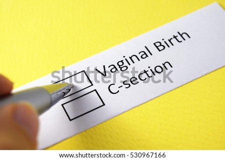 Caesarean vs vaginal