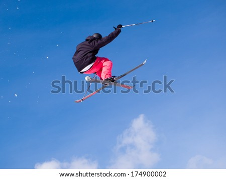 Vail, Colorado-February 2012: 2012 Winter TEVA Mointain Games.