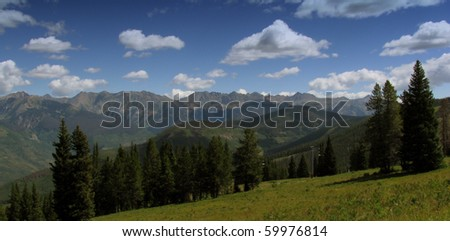 Vail Mountain - stock photo