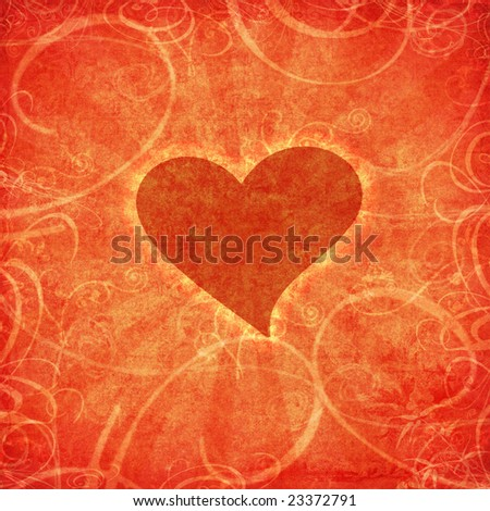 valentine background - stock photo