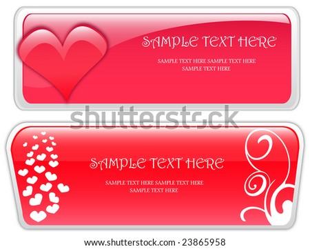 Valentine Day Banner Stock Illustration 23865958 Shutterstock
