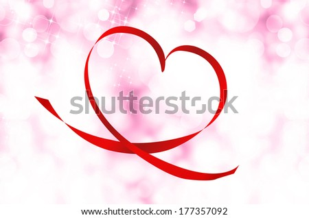 Valentine Heart.Holiday Concept