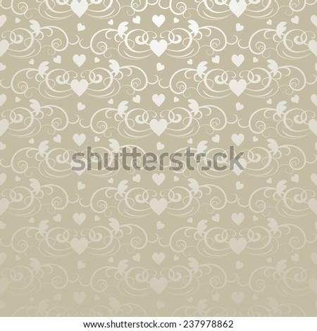 Valentine's day, abstract background - stock photo