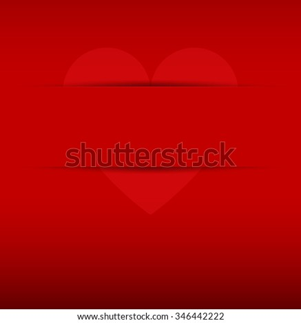 Valentine`s day abstract red background. Rasterized copy - stock photo