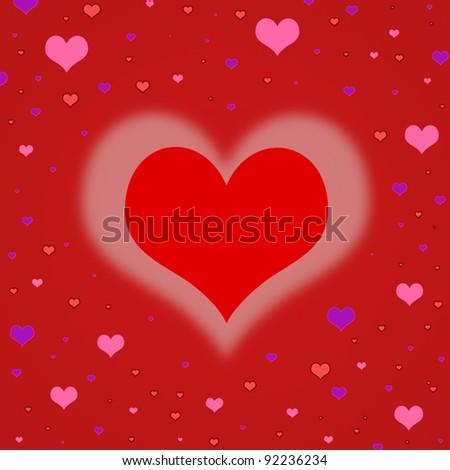 Vector Heart Bulk Valentines Day Good Vector 565133161 – Bulk Valentine Cards