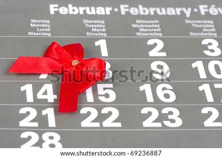 Valentine's Day 14. February - stock photo
