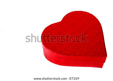 Valentines Candy Box