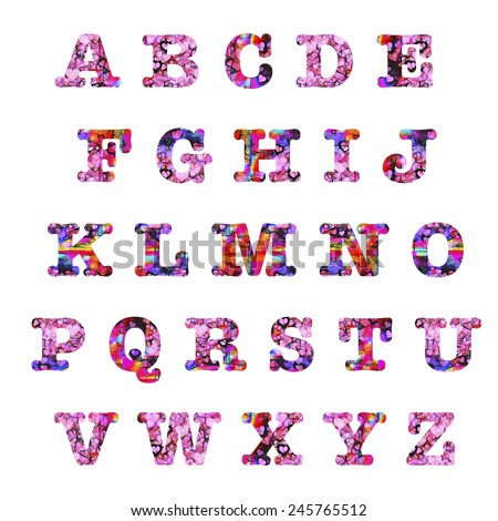 Girly fonts letters images for Girly font tattoo