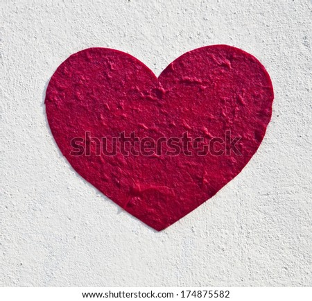 valentines day postcard, heart, red heart, love, love you, I love you, love sign, love flag - stock photo