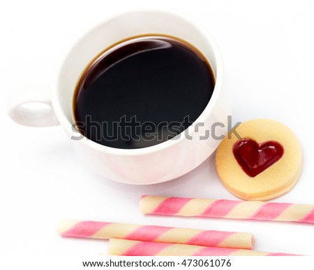 Valentines Heart Cookie Meaning Coffee Love Cookies And Coffee Love Cookies
