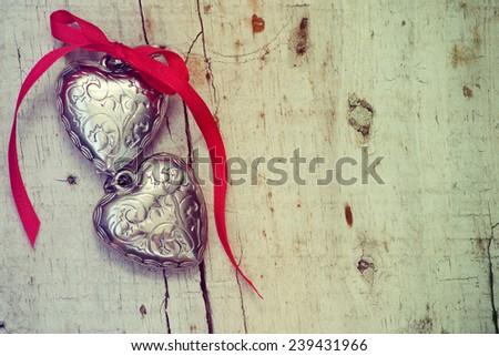 Valentines Hearts - stock photo