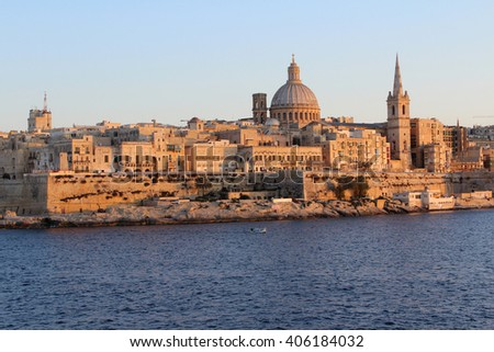 Valletta, Republic of Malta - stock photo