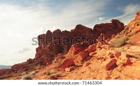 Valley Of Fire State Park-Las Vegas,Nevada - stock photo