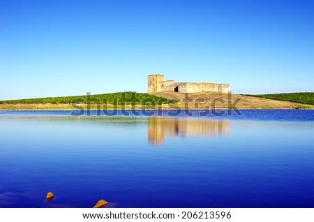 Valongo castle, Evora, Portugal  - stock photo