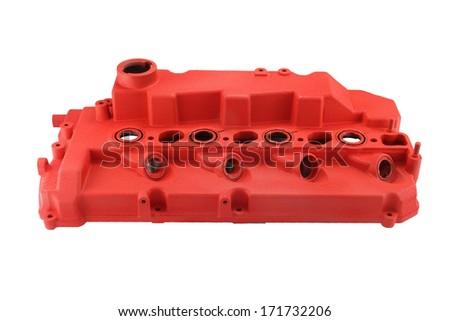 valve cover car - stock photo