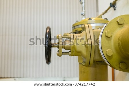 valve in a power station