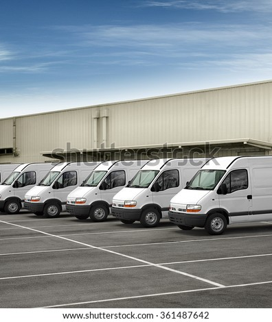 van fleet - stock photo