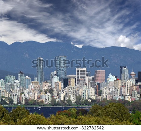 Vancouver, British Columbia, Canada (October 2015) - stock photo
