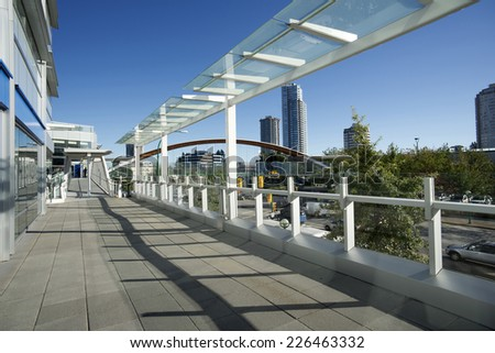 Vancouver - Burnaby Metrotown and Kingsway, British Columbia, Canada - stock photo