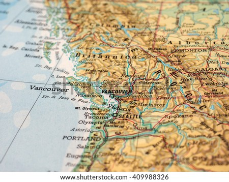 Vancouver Map Stock Images RoyaltyFree Images Vectors - Vancouver canada map