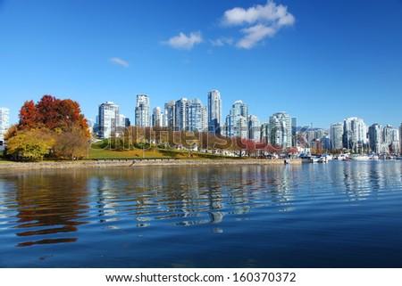 Vancouver in British Columbia, Canada - stock photo